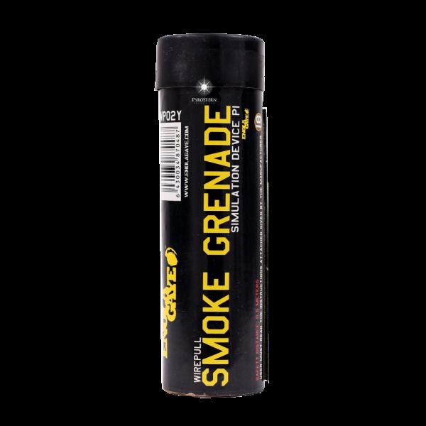 Wire Pull Rauchgranate, gelb (smoke) WP40