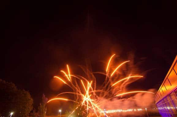 Feuerwerk Betriebsfest DRK Isenbüttel