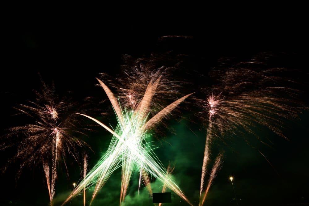 PyroStern Feuerwerk DRK Betriebsfest