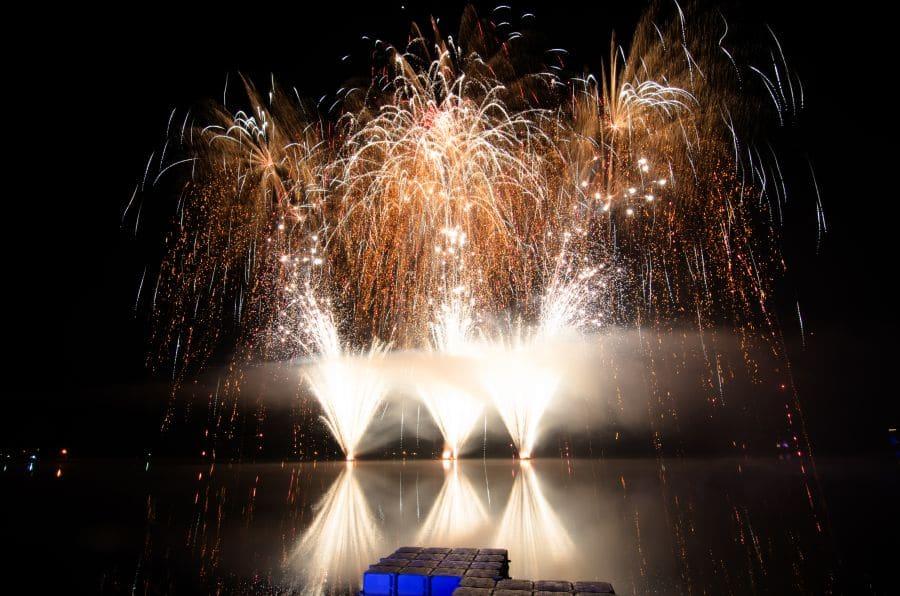 Musikfeuerwerk Tankumsee in Flammen - Finalbild