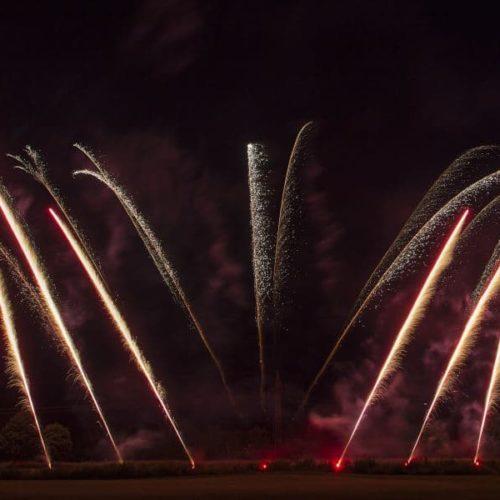 Bild zeigt eine Feuerwerk Show